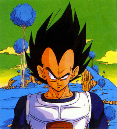 Is the saiyan armour thet Vegeta gets from Frieza's ship an older or newer model?