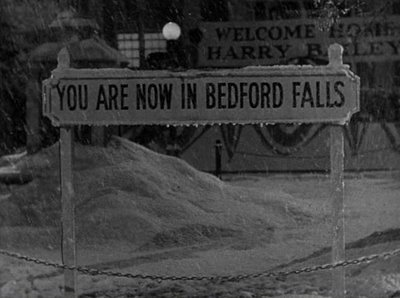 """""""Bedford Falls"""" in in which classic film ?"""