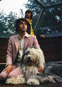 While Paul McCartney was still with the Beatles, he wrote a song for his dog. What was his dog's name?