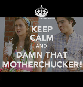 "Who is the girl who says to Chuck Bass: ""Chuck I...I can't believe I'm saying this, but that was really sweet."" ?"