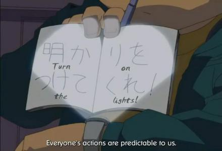 Who was Conan/Shinichi showing this to?