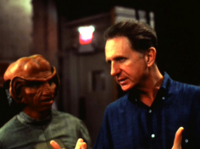 Which episode should have been directed da Rene Auberjonois but wasn't?