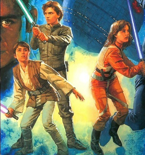 What are the names of Leia and Han's three children?