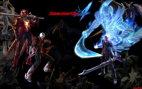 wallpaper devil may cry 4. Devil May Cry 4