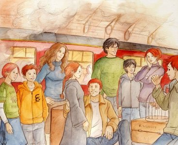 Out of Harry&Ginny's children, who has green eyes?