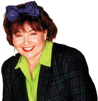 "When asked if she can shampoo heads, Roseanne responds she can because: ""I'm a __________."""