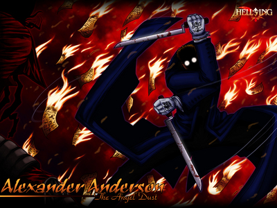 How many times has Anderson decapitated Alucard?