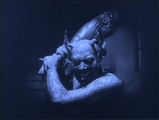 Here is the director of an extraordinary 'documentary' film from 1922 in which he played the devil. What is the film?