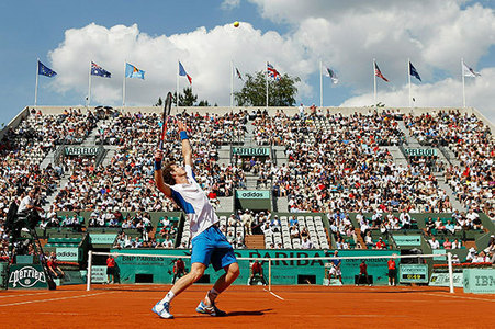 Where was he seeded for the French Open 2010?