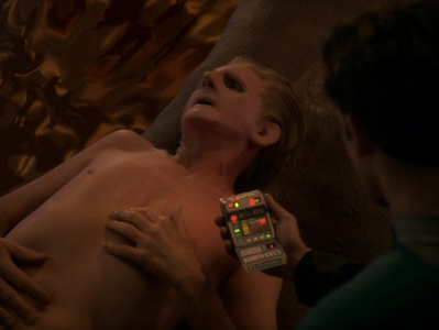 At the end of season 4, Odo was transformed into a Solid. Why?
