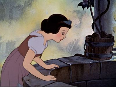 What is Snow White's first line?