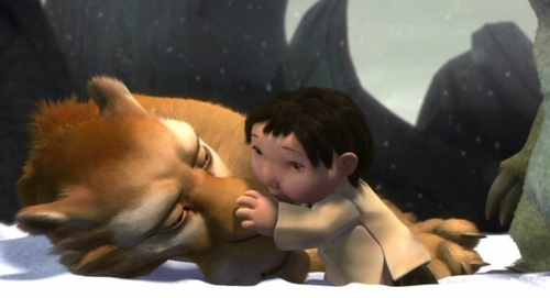 why Diego traide his pack to save mannie,sid and the baby