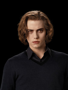 Where does Jasper have his Cullen Crest?