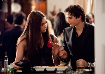 Damon Gave Elena A Rose In...