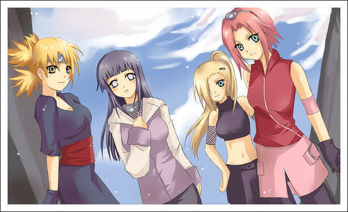 Which of the Naruto girls is the oldest?