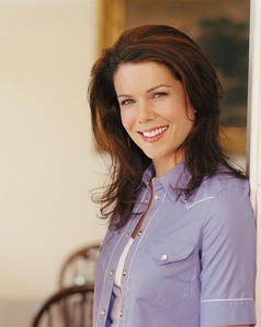 Luke is always throwing Lorelai out of the diner because she is doing something not allowed in the diner. What is that?