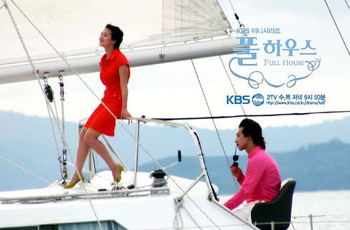 What country did Lee Young-jae and Han Ji-eun go for their honeymoon?