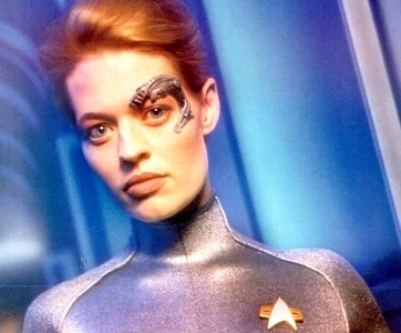 What actress turned down the role of Seven of Nine four times?