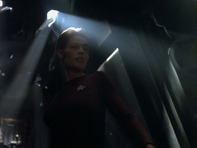 Seven's parents used which ship to get to the Delta Quadrant?