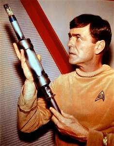 Scotty was first introduced in what TOS story?