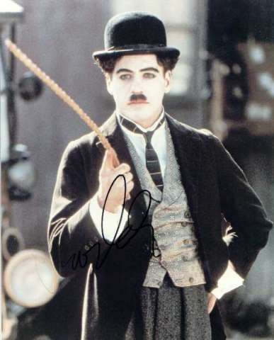 "Did Robert win any awards for his role as Charlie Chaplin in 1992's ""Chaplin""?"