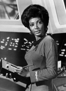 Complete the lyric of this Uhura song from Charlie X - 'His alien Любовь could victimize and...?