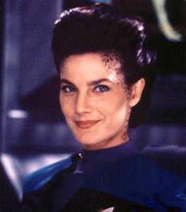 Jadzia once had a crush on who?