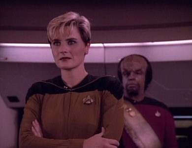 What was Tasha Yar's younger sister called?