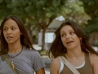 In what movie would you see Zoe starring alongside Mila Kunis?