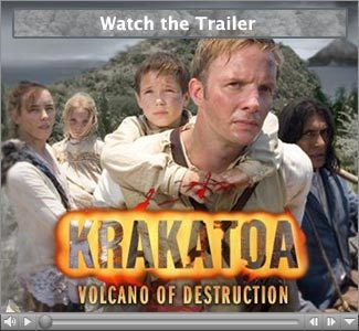 Rupert starred in Krakatoa-the last days, but in which year did the volcano erupt?