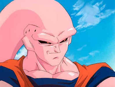 What color is Buu's tongue?