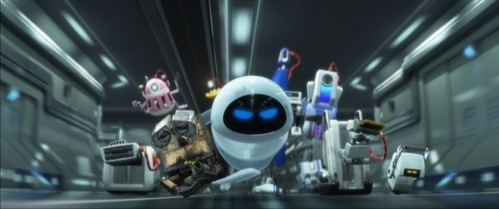 What is the Human/Robot Ratio in WALL-E? (For every one human on the ship, how many robots are there?)