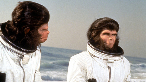 "In ""Escape from the Planet of the Apes,"" what do Cornelius and Zira name their child?"