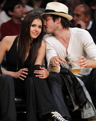 nina dobrev and ian somerhalder kiss. Ian Somerhalder and Nina Dobrev middot; How much older is Ian than Nina? How much older is Ian than Nina?