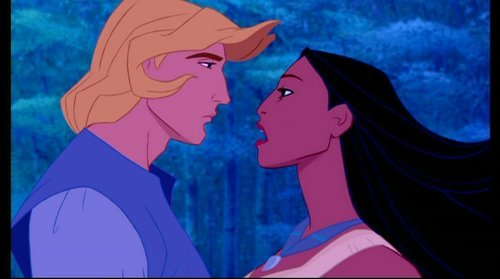 Who wrote the lyrics of the Pocahontas songs?
