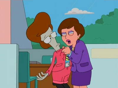 """In the episode """"Rough Trade"""" S1Ep17, who becomes the 'patsy' so Stan can get out of jail?"""