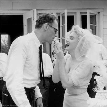 She married Arthur Miller ...