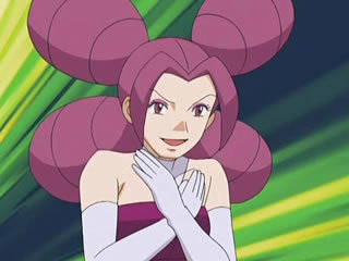 Which Pokémon in Fantina's team that was able to defeat Zoey's Glameow?