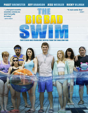 In The Big Bad Swim Paget is a teacher at what Connecticut High School?