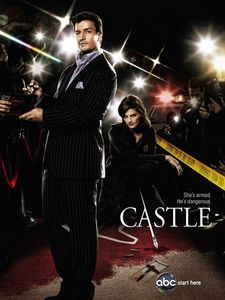 What is the 标题 of Castle's 秒 Nikki Heat novel?