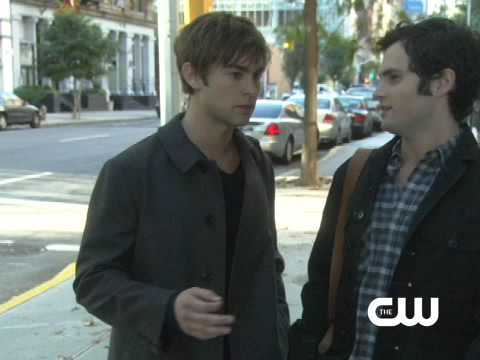 "Which episode? ""Look, I know things. I've been to Europe. Chuck Bass  is my best friend. The third person is supposed to be a complete stranger!"""