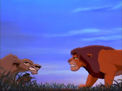Why doesn't Simba want Zira's family in the Pridelands?