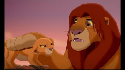 What does Simba try to teach Kiara after the fiasco with Zira?
