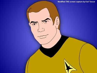 In what animated episode is it revealed what the T. in 'James T. Kirk' stands for?