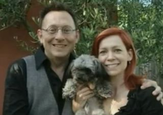 Michael and Carrie recently adopted a puppy into their family. What did they name it?