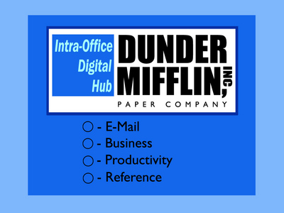 The Dunder-Mifflin screen saver appears on everyones computers in and around the office, what episode did the Dunder-Mifflin screen saver first appear in?