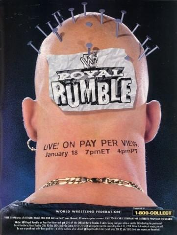 How many times did Steve Austin won the Royal Rumble ??