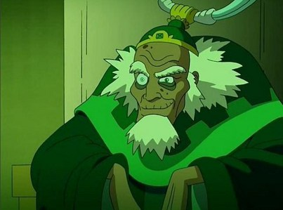"""In """"The King of Omashu"""", what does Bumi throw at Aang, which he catches uses airbending?"""