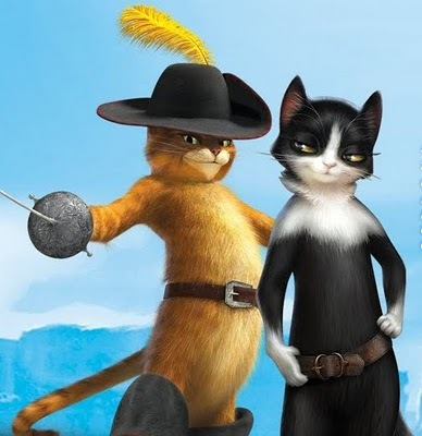 What tahun will the Puss In Boots movie come out?