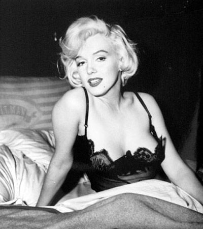 True or False: Someone paid $14,000 for the bra worn by Marilyn Monroe in the film 'Some Like It Hot'.